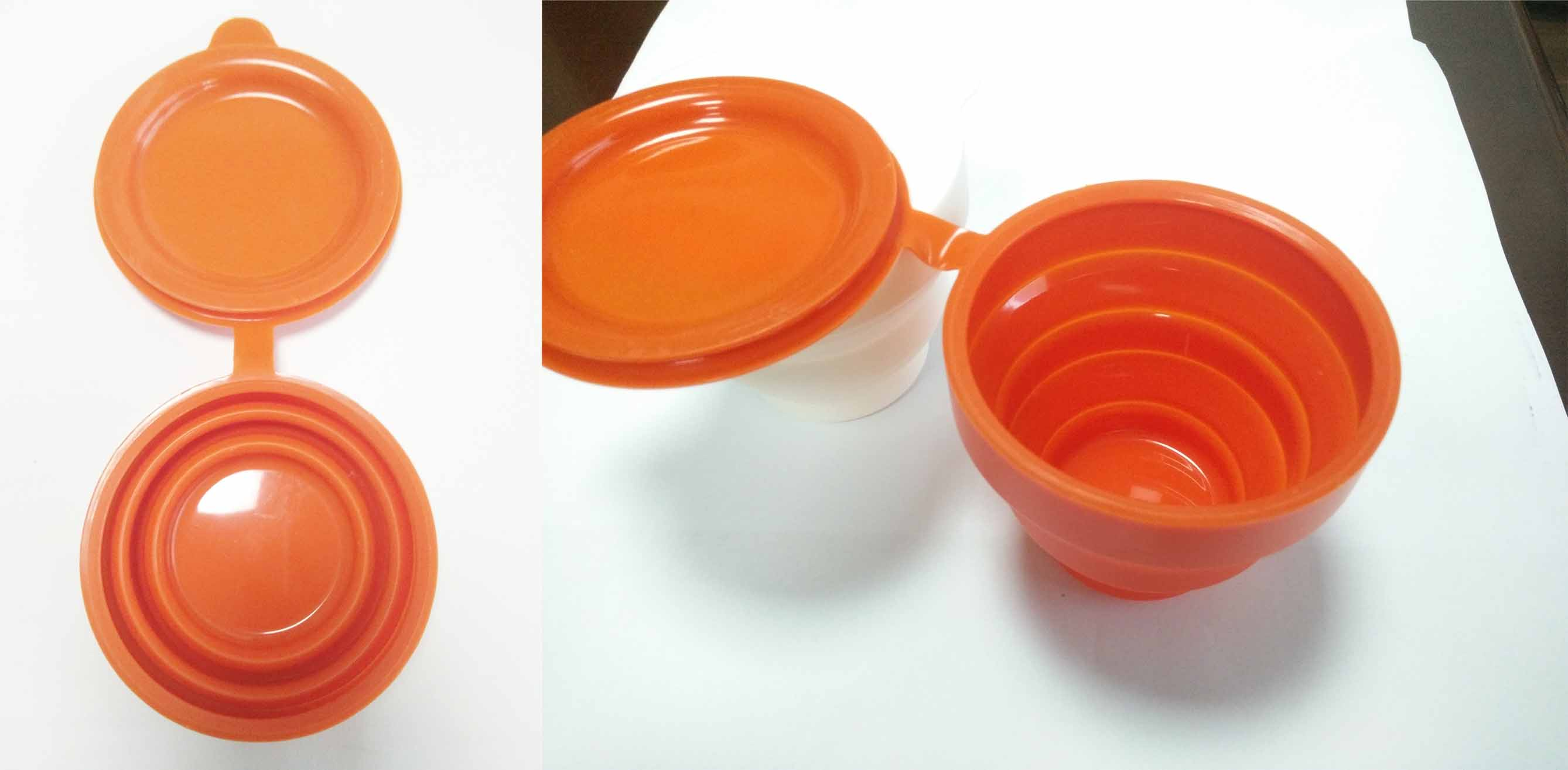 Silicone foldable cup silicone collapsible cup