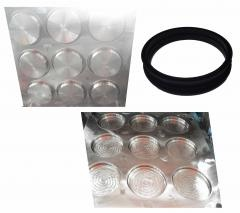 Rubber mold of rubber rings
